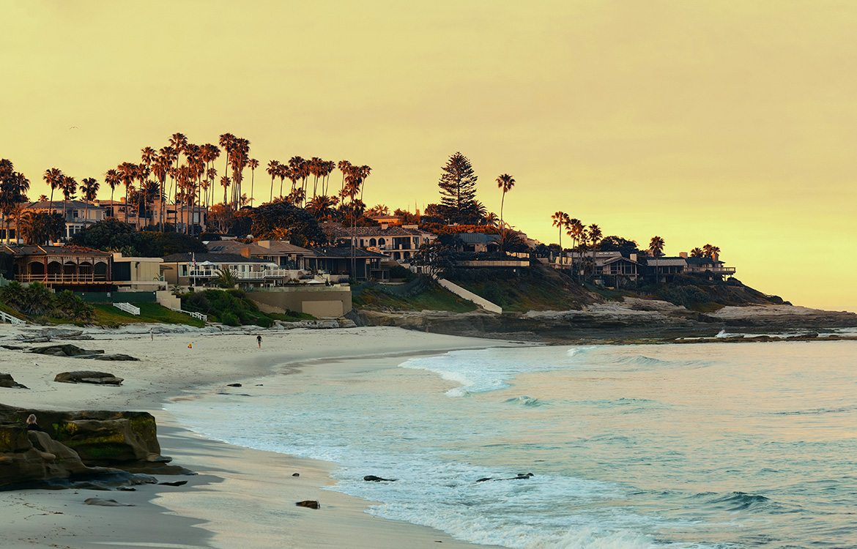 la Jolla Beach, San Diego