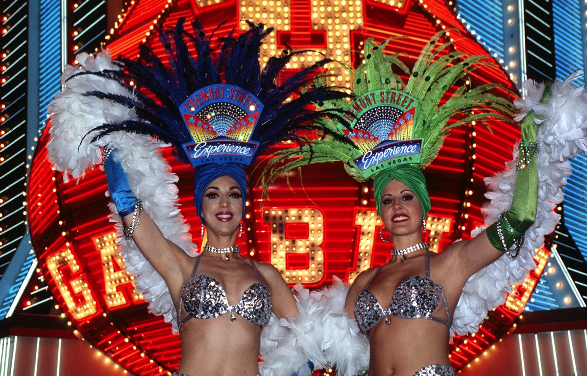 Las Vegas show girls