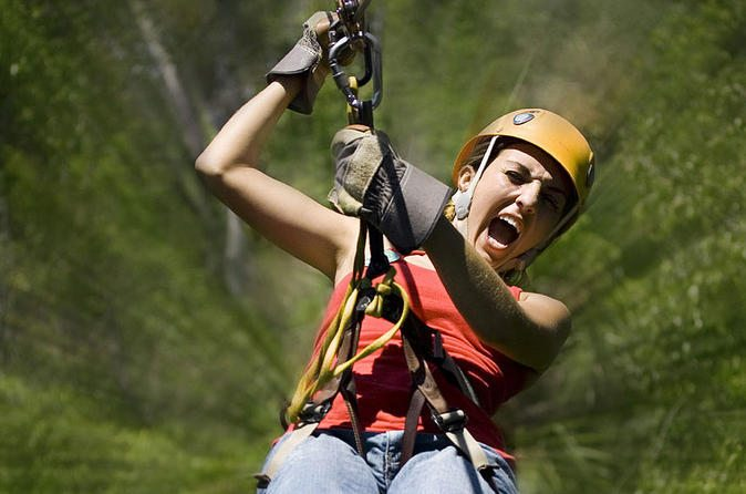 things to do in Cancun - zipline adventure