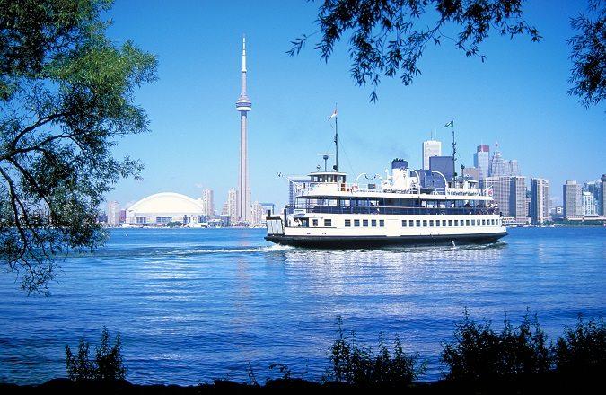 visit Toronto islands