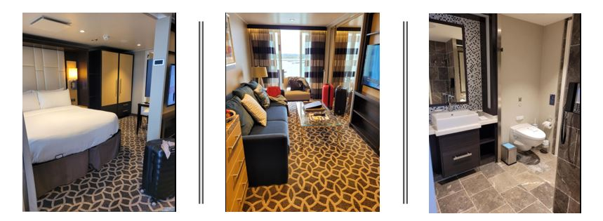 accommodation onboard Anthem of the Seas
